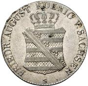 1/12 Thaler - Friedrich August I. – obverse