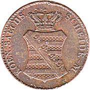 3 Pfennig - Anton I. – obverse