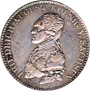 ⅓ Thaler - Friedrich August I -  obverse