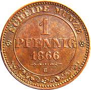 1 Pfennig - Johann – reverse
