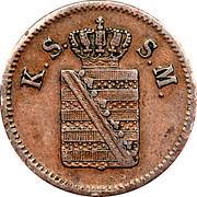 1 Pfennig - Johann – obverse