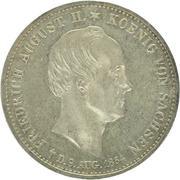 1 Thaler - Friedrich August II (Death) – obverse