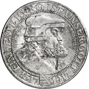 3 Mark - Friedrich August III (Aluminium pattern strike) – obverse