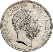 2 Mark - Albert (Mint Visit) – obverse