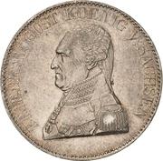 1 Thaler - Friedrich August I (Ausbeute) – obverse