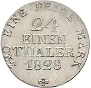 1/24 Thaler - Anton – reverse