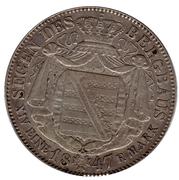 1 Thaler - Friedrich August II – reverse