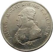 1 Thaler - Friedrich August I – obverse