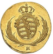8 Pfennige - Friedrich August I. (Gold Pattern) – obverse