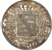 1 Thaler - Friedrich August II (Ausbeute) – reverse