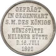 2 Mark - Albert (Mint Visit) – reverse
