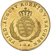 1/12 Thaler - Friedrich August I. (Gold Pattern) – obverse