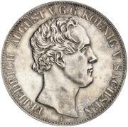 2 Thaler / 3½ Gulden - Friedrich August II (Royal Saxon Academy of Forestry) – obverse