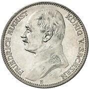 2 Mark - Friedrich August III. – obverse