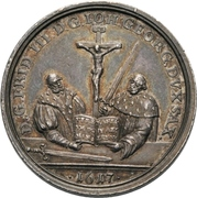 Medal - 200 years of the Reformation (Saxony) – obverse