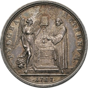 Medal - 200 years of the Reformation (Saxony) – reverse