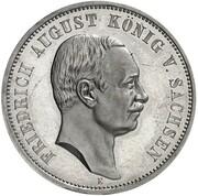 3 Mark - Friedrich August III (Pattern) – obverse