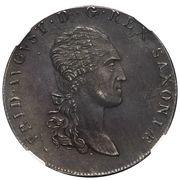 1 Thaler - Friedrich August I (Pattern) – obverse
