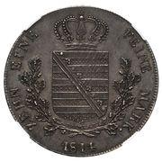 1 Thaler - Friedrich August I (Pattern) – reverse