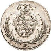 8 Pfennige - Friedrich August I (Pattern) – obverse