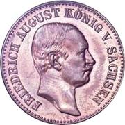 20 Mark - Friedrich August III. – obverse