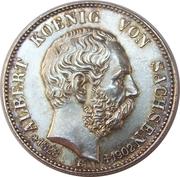 2 Mark - Albert I (Death of King Albert) – obverse