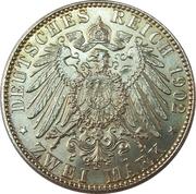 2 Mark - Albert I (Death of King Albert) – reverse