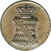 1 Pfennig - Anton I. – obverse