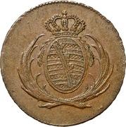 4 Pfennig - Friedrich August I – obverse