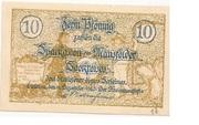 10 Pfennig (Mansfelder Seekreis; Sparkasse) – obverse