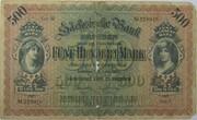 500 Mark (Sächsische Bank) – obverse