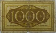 1000 Mark (Sächsische Bank) – reverse