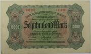 10,000 Mark (Sächsische Bank) – obverse
