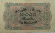 10,000 Mark (Sächsische Bank) – reverse