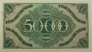 50,000 Mark (Sächsische Bank) – reverse