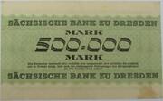 500,000 Mark (Sächsische Bank) – reverse