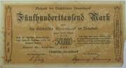 500,000 Mark (Sächsische Staatsbank) – obverse