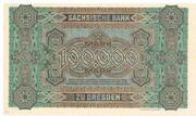 100,000 Mark (Sächsische Bank) – reverse