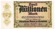 2,000,000 Mark (Sächsische Bank) – obverse