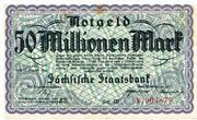 50,000,000 Mark (Sächsische Staatsbank) – obverse