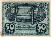 50 Pfennig (Kirchberg in Sachsen) – reverse