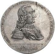 1 Thaler - Georg Friedrich (Death; Ausbeutetaler) – obverse