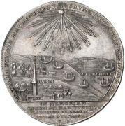 1 Thaler - Georg Friedrich (Death; Ausbeutetaler) – reverse