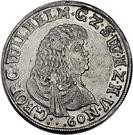 1 Gulden - Georg Wilhelm – obverse