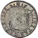 1 Gulden - Georg Wilhelm – reverse