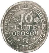 16 Groschen - Gustav – reverse