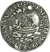 ¼ Thaler - Luise Juliane von Erbach (Death) – reverse