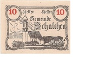 10 Heller (Schalchen) -  obverse