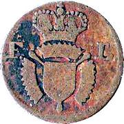 1 Pfennig - Friedrich II – obverse