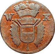 1 Pfennig - Wilhelm I – obverse